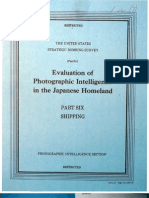 USSBS Report 103, Evaluation of Photographic Intelligence in the Japanese Homeland, Part6, Shipping