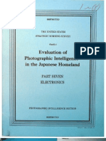 USSBS Report 104, Evaluation of Photographic Intelligence in the Japanese Homeland, Part7, Electronics, OCR