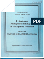 USSBS Report 106, Evaluation of Photographic Intelligence in the Japanese Homeland, Part9, Coast and Anti-Aircraft Artillery