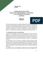 Comisión CEHACS Premisas
