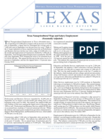 Texas Labor Market Review October 2011