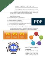 Planejamento de 5S para Qualidade no Curso Dimensão