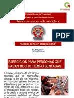 Proyecto Institucional de Activación Física 2011