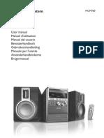 Philips MCM760 Manual