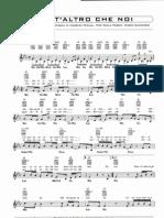 Max Pezzali (883) - Nient'Altro Che Noi (Sheet Music - Spartiti)