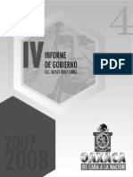 Secgob. 4 Informe Gobierno Ulises. 2008