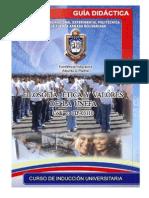 GUÍA DIDÁCTICA ÉTICA Y VALORES - CIU 2008- 09