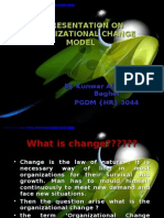 A Presentation on Organizational Change Model