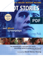 Robot Stories and More Screenplays by Greg Pak