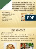 Presentación Fast Delivery