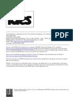 Antecedentes y Perspectivas de La Inversion Extranjera y La Comercializacion de Tecnologia