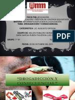 Drogadicción-Informática aplicada a la Educación-Melvin-Sara-Rubén-Luis