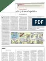 plaza publica - granados chapa -La jueza 54 y el interés público - reforma