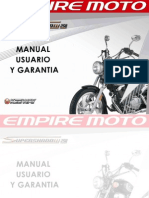 Manual de Usuario Super Shadow 250 2010