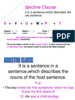 Adjective Clause1