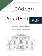 Código Académico da Faculdade de Ciências Médicas