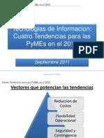 CUatro tendencias TI para PyMEs