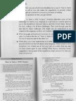 Anzaldua and Essay Prompt