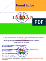 Proud to Be Indian