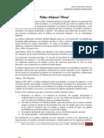 Politica Industrial Vertical()