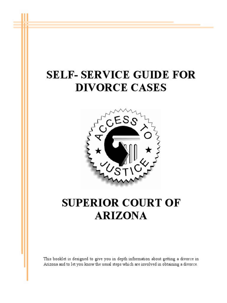 Self service divorce guide service of process alimony solutioingenieria Image collections