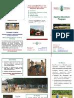 Bella Terra Team Building Brochure - Trifold