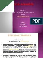 Politica Economica y Comercial
