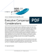 Executive Compensation Considerations
