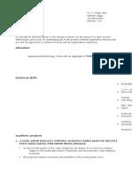Dilip Resume Rtf