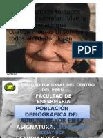 POBLACIÓN DEMOGRÁFICA DEL ADULTO MAYOR EN EL PERÚ