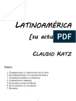 Katz, Claudio - Latinoamérica [su actualidad]