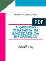 LIVRO - A Questão Cidadania na Sociedade da Informação