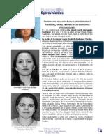Audiencia por sentencia contra Alma Beatriz Valle Flores de Mejía y Enriqueta Francisca Noriega Cano