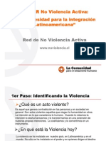 Taller Red de No-Violencia Activa