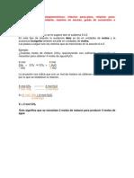 4.3.2. Cálculos estequiométricos B  relación peso- peso, relación peso-volumen,