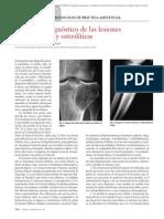 12.011 Protocolo diagnóstico de las lesiones osteoblásticas y osteolíticas