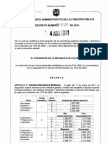 52416998 Tabla Salarios 2011 Decreto 1278 de 2002 Vigencia