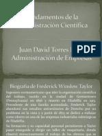 Fundamentos de la Administración Científica