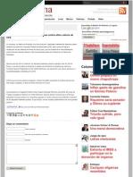 Estima Saracho 2 millones de firmas contra altos cobros de CFE