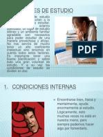 Diapositiva 1condiciones de Estudio