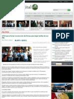 CFE busca frenar recolección de firmas para bajar tarifas de luz