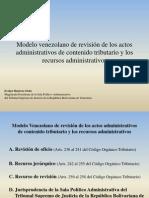 20090717 120704 Venezuela - Evelyn - Revision de Los Actos Administrativos Tributarios