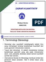 Metalografi Kuantitatif