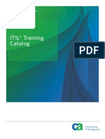Itil Training Catalog 3832