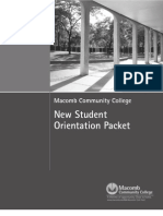 8 New Student Orientation Packet