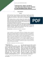 Aplikasi Teknologi Simulasi Rele Differensial Dan Rele Bucholz Pada Sistem Pengaman Transform at Or 3 Phasa