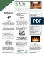 Bulletin Oct 2011