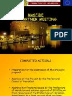 2MeSFiDE Presentation in Cyprus, Prefecture of Heraklion