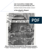 Geologic Faulting Under the North Anna Nuclear Plant