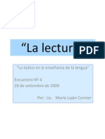 Power Point Nº 1  La lectura